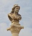 Cayenne place des palmistes - colonne de la république buste 1889.jpg