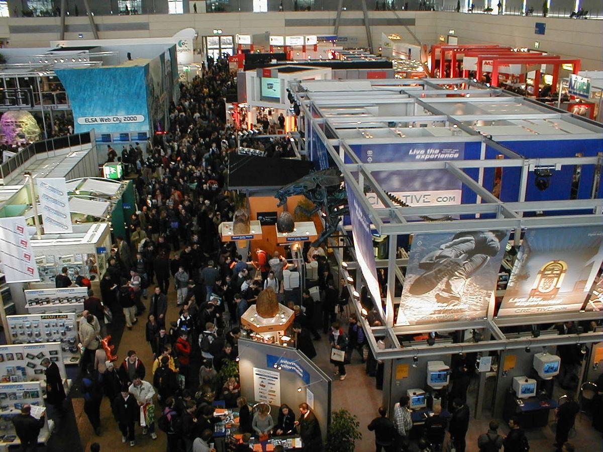 Cebit wikipedia for Trade exhibition