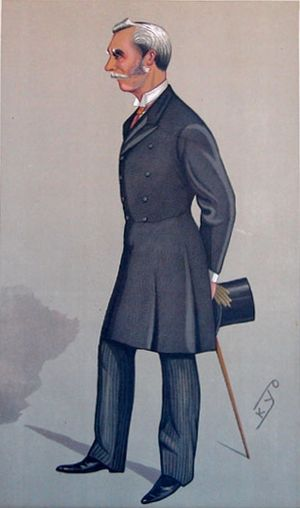 Financial Secretary (Hong Kong) - Image: Cecil Clementi Smith Vanity Fair 1892 01 23