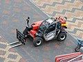 Centenary Square behind barriers - specialised forklift truck (33603304133).jpg
