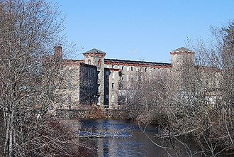 West Warwick, Rhode Island - Historic Centerville Mill