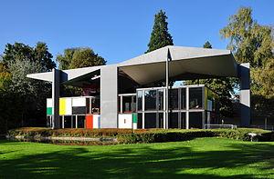 Museum of Design, Zürich - The Pavillon Le Corbusier situated near Zürichhorn on lake shore