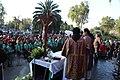 Ceremonia conmemorativa 30 años de los Sismos de 1985 Reloj de Sol, Tlatelolco. 05.JPG