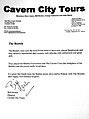 Certyfikat dla Zespołu The Bootels od dyrekcji The Cavern Club.jpg