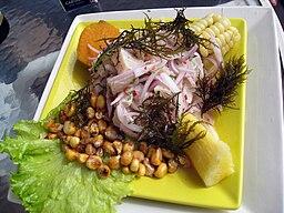 Ceviche de pescado (La Punta, Callao)