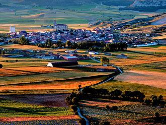 Cevico de la Torre - View of Cevico de la Torre