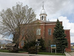 Buena Vista, Colorado - Chaffee County Courthouse and Jail Buildings