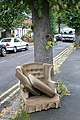 Chair on Prince of Wales Avenue - geograph.org.uk - 995952.jpg