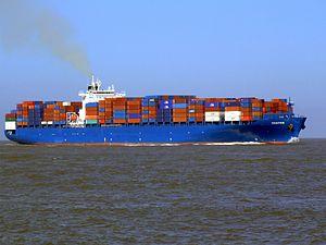 Chaiten p5 approaching Port of Rotterdam, Holland 08-Mar-2007.jpg