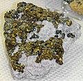 Chalcopyrite (Huaron Mine, Pasco Department, Peru).jpg