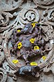 Chandramouleshwar Temple, Lord Ganapati's idol carved in Chalukya style on the outer walls of the temple.jpg