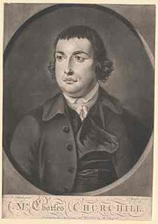 Charles Churchill (satirist) 18th-century English poet and satirist