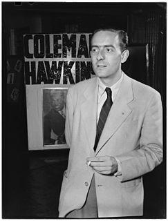 Charles Delaunay French author, jazz expert