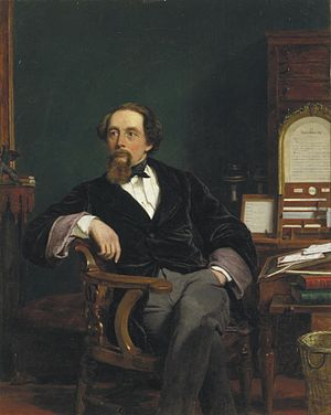 William Powell Frith - Image: Charles Dickens by Frith 1859 (2)
