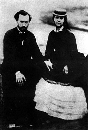 Jenny Longuet - Charles and Jenny Longuet in the 1870s.