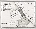 Chart of the Promontory of Boodroom with the Karabaghla Islands and the North Point of the Island of Kos - by Francis Beaufort F.R.S. - 1811 RMG F0274-Kos harbour excerpt.jpg