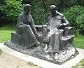 Chartwell, Churchills' statue.jpg