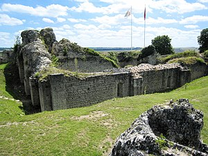 Château d'Ivry-la-Bataille - The ruins of the donjon at Château d'Ivry-la-Bataille