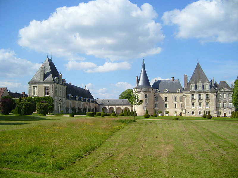 File:Chateau d'Azay-le-Ferron View from Park.JPG