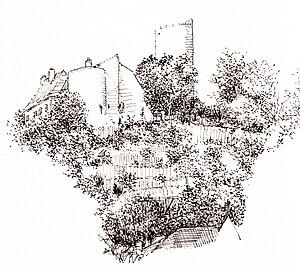 Château de Châlus-Chabrol - Château de Châlus-Chabrol by Ildo Moratti