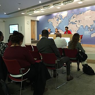 Chatham House - Africa Programme's event in 2015
