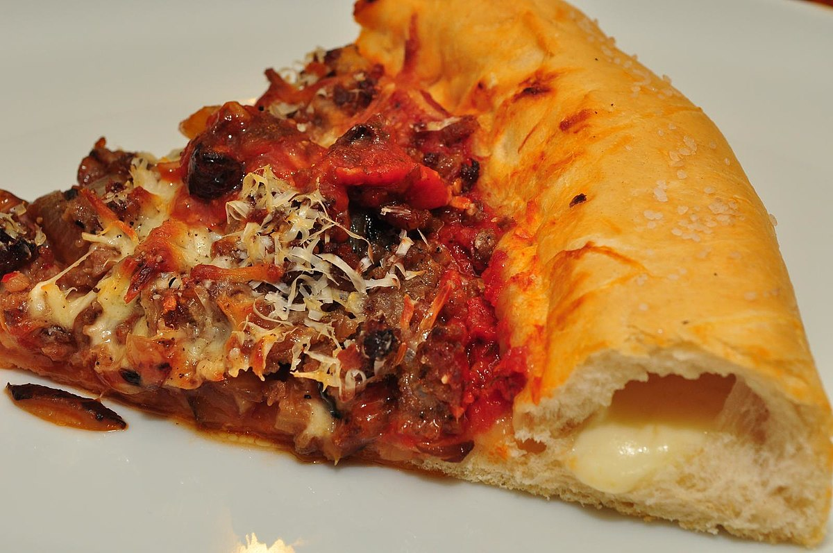 Stuffed crust pizza - Wikipedia Stuffed Crust Pizza