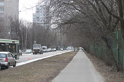 How to get to Челюскинская Улица with public transit - About the place