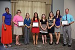 Cherry Point's Enlisted Spouses Club awards scholarships for education 140620-M-GY210-010.jpg