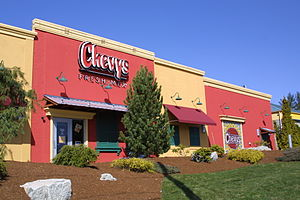 Chevys Fresh Mex - A Chevys Fresh Mex restaurant in April 2001.