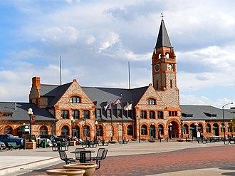 Wyoming Transportation Museum - Image: Cheyenne WY UP depot