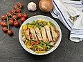 Chicken breast on Vegetables - 49859595051.jpg