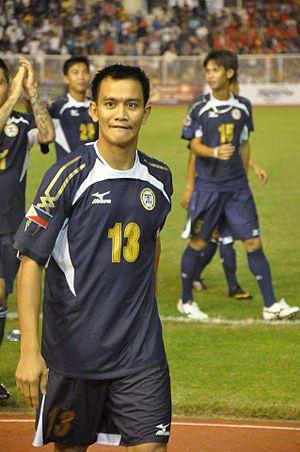 United Football League (Philippines) - Emelio Caligdong won the Mr. Football Award twice with UFL club Philippine Air Force.