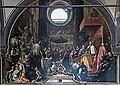 Chiesa di San Zaccaria Venezia - Il Doge Piero Lando assiste alla consacrazione della chiesa nel 1543 da parte di Giovanni Lucio Stofilio, vescovo di Sebenico (XVIIIe), by D. Heintz.jpg
