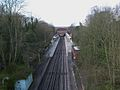 Chigwell station high westbound from road bridge.JPG