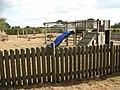 Children's playground beside village hall - geograph.org.uk - 1520136.jpg