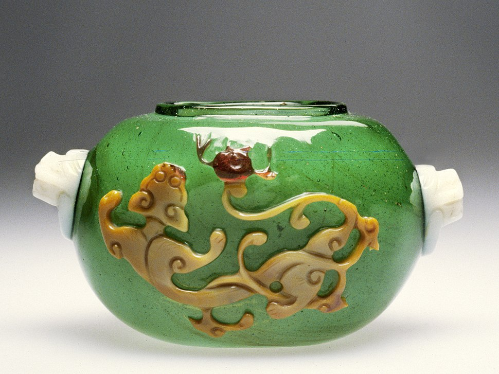 Chinese - Jar with Design of a Dragon - Walters 47691