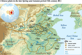 Wu (state) ancient state in China, during the Western Zhou Dynasty and the Spring and Autumn Period