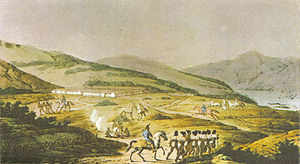 Yerba Buena, California - Presidio of San Francisco in Alta California, in 1817.