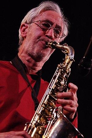 Saxophonist Chris Biscoe