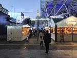 Christmas Market in front of Hakata Station.jpg