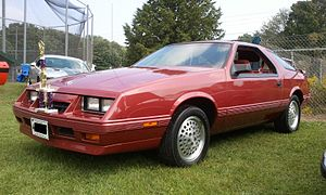 Dodge Daytona - 1985 Chrysler Laser XE
