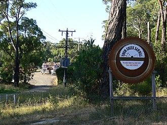 Chum Creek, Victoria - Image: Chumcreeksawmill