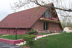 "Church of Christ With the Elijah Message - Church of Christ ""With the Elijah Message"" meetinghouse in Independence, Missouri"