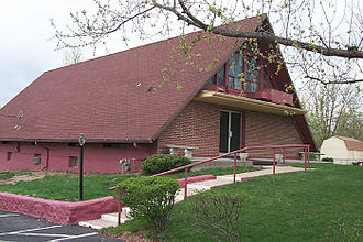 """Church of Christ With the Elijah Message - Church of Christ """"With the Elijah Message"""" meetinghouse in Independence, Missouri"""