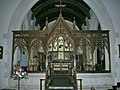 Church of the Ascension, Burghclere, Screen - geograph.org.uk - 1317604.jpg