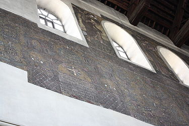 Church of the Nativity wall mosaic 2010.jpg