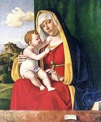 Cima da Conegliano: Madonna with child