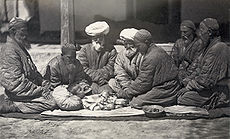 circumcision performed in Central Asia , c. 1865–1872