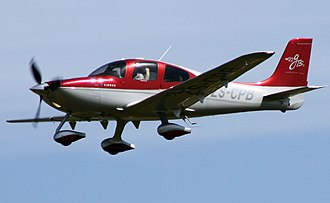 General aviation - The Cirrus SR22, a popular modern GA aircraft