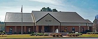 Baxley, Georgia - City hall in Baxley